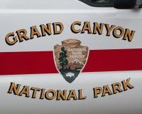 Kommandosoldatbildörr i Grand Canyon Royaltyfri Foto