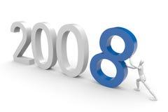 Kommen 2008 Lizenzfreies Stockfoto