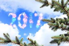 Kommen des neuen Jahres Stockfotografie