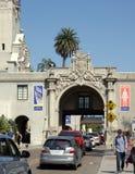 Kommen Sie zum Balboa-Park herein Stockfotografie