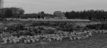 Kommende Welt erinnern sich an mich - der Abbau laufend - WW1 - Zillebeke stockfoto
