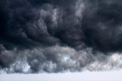 Kommender Sturm lizenzfreies stockbild