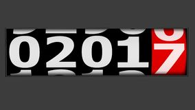 Kommendes neues Jahr lizenzfreies stockbild