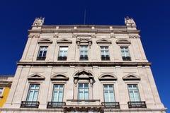 Kommersfyrkant, LIsbon, Portugal Royaltyfria Bilder