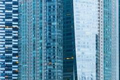 Kommersiell byggnadstextur arkivbild