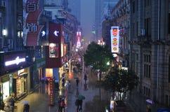 kommersiell guangzhou för porslin gata arkivfoton