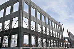 kommersiell konstruktionslokal Arkivfoton