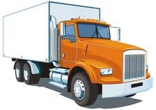 Kommersiell lastbil Fotografering för Bildbyråer