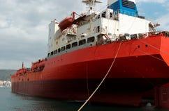 kommersiell ship Royaltyfria Foton