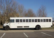 Kommersiell skolbuss Royaltyfria Foton