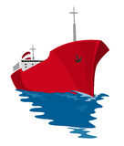 kommersiell tankfartyg Arkivfoto