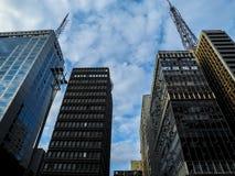 kommersiella byggnader Royaltyfri Bild