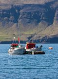 Kommersiella fiskebåtar Royaltyfria Foton