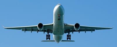 Kommersiella Jet Aircraft på Sydney Airport Royaltyfria Foton