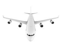 Kommersiellt flygplan stock illustrationer