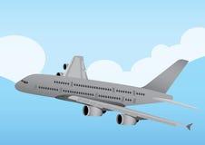 Kommersiellt flygplan Arkivbilder