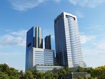 kommersiellt modernt för byggnader arkivfoto