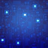 Kommerzielle Daten sind, Schadsoftwareangriff, Vektorillustration verschlüsselt worden lizenzfreie abbildung
