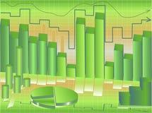 Kommerzielle Grafiken Stockfoto