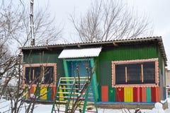 kommet har vinter Fotografering för Bildbyråer