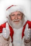 Kommet till Santa Claus Arkivfoto