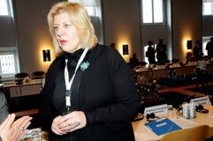 KOMMISSIONÄR FÖR MÄNSKLIGA RÄTTIGHETER Royaltyfri Fotografi