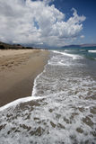Kommos beach Royalty Free Stock Images