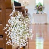 Kommt hier die Braut Stockbilder