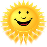 Kommt hier The Sun Lizenzfreie Stockfotos