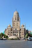 Kommunal Korporation byggnad av Mumbai Arkivbilder