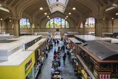Kommunal marknad i Sao Paulo, Brasilien Royaltyfri Foto