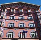 Kommunalbank in Ljubljana, Slowenien Lizenzfreie Stockfotografie