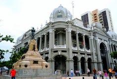 Kommunbyggnaden arkivbild