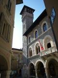 Kommunfullmäktige av Bellinzona, Ticino, Schweiz royaltyfri foto