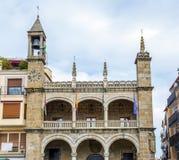 Kommunfullmäktige av Plasencia, spännvidd Royaltyfri Fotografi