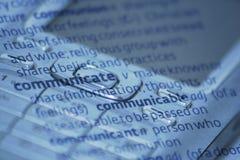 kommunikation Arkivbild