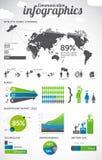 Kommunikation infographics Stockfotos