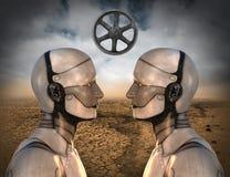Kommunikation teknologi, information som lär, utbildning Royaltyfri Fotografi