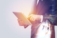 Kommunikation und Technologie lizenzfreie stockfotos