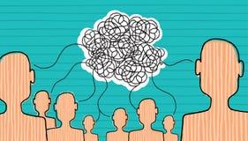 Kommunikation wird aufgebaut Lizenzfreie Stockfotos