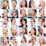 Kommunikationen gör folk mer nära arkivfoto