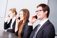 Kommunikationen im Geschäft Lizenzfreie Stockfotografie