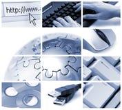 Kommunikationen und Technologie Lizenzfreies Stockfoto