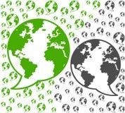 Kommunikationer för global miljö Arkivfoto