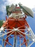 Kommunikations-Antenne Stockfotografie