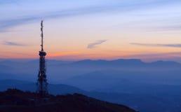 Kommunikations-Antennen Stockbild
