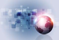 Kommunikations-Geschäfts-Konzept-Hintergrund Stockfotografie