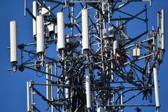 Kommunikations-Handy-Turm Lizenzfreies Stockbild