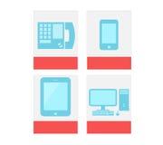 Kommunikations-Ikone Lizenzfreie Stockfotografie
