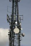 Kommunikations-Mast stockbild